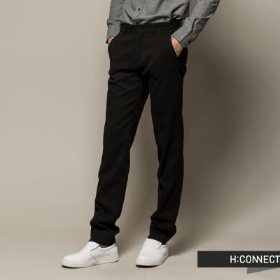 H-CONNECT-韓國品牌-男裝-厚料直筒休閒褲