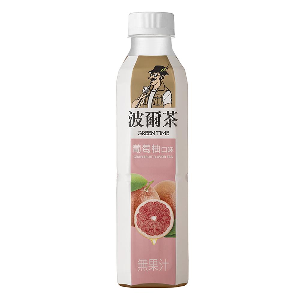 金車 波爾茶-葡萄柚口味(580mlx24入)