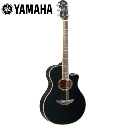 YAMAHA APX700II BL 電木吉他 耀岩黑