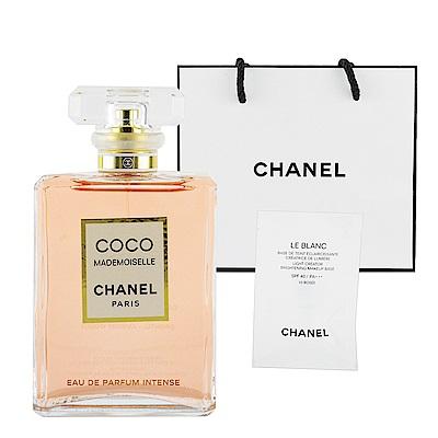 CHANEL香奈兒 摩登COCO魅惑印記 香水 50ml + 提袋及美妝小物