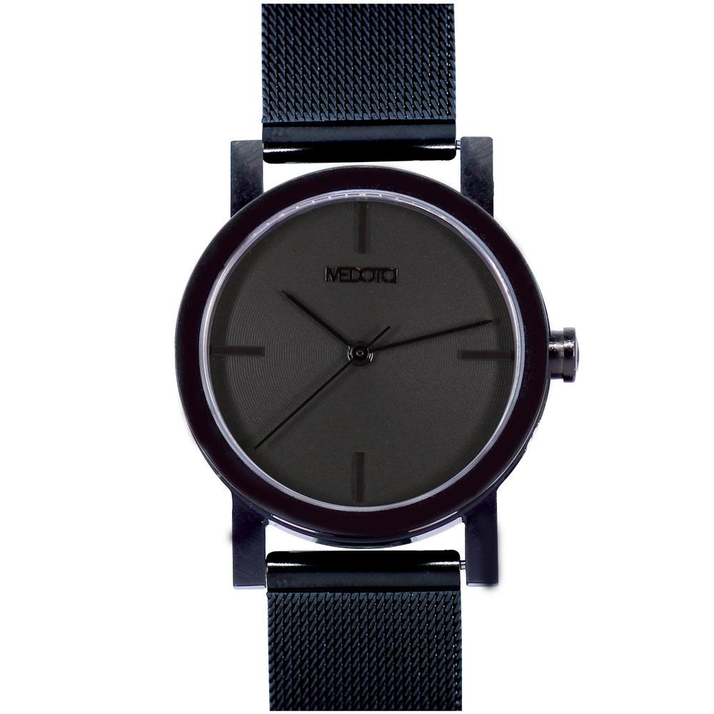 MEDOTA 極簡輕薄手錶- 低調系列 – 女錶 黑色/30mm
