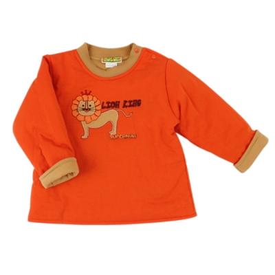愛的世界-SUPERMINI-兩面穿圓領舖棉長袖上衣-3歲