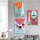 TROMSO時尚無框畫/巴黎熱氣球 product thumbnail 1