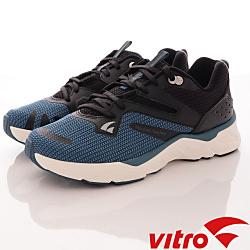 Vitro韓國專業運動品牌-102時尚頂級專業慢跑鞋-黑藍(男)