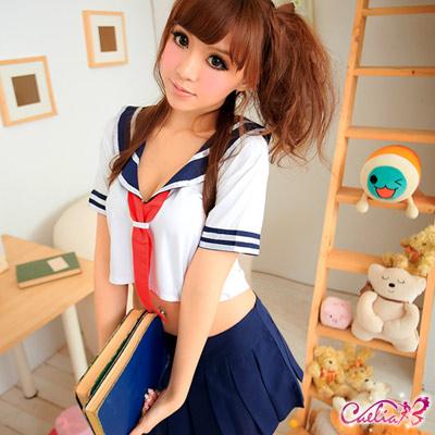 【Caelia】美麗幻想!清純甜妹二件式學生服