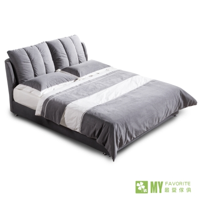 床架-雙人5呎-雲朵柔體床-最愛傢俱