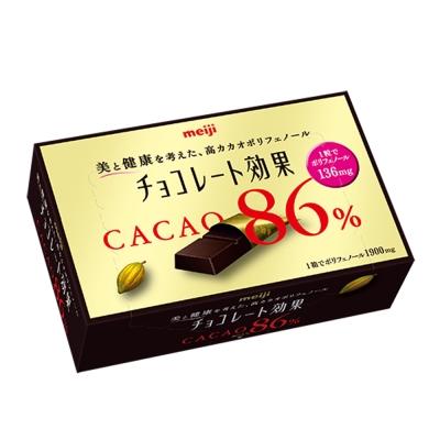 明治 CACAO86%黑巧克力 盒裝70g