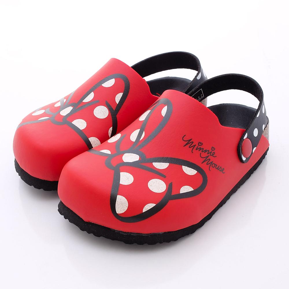 迪士尼童鞋 米妮休閒涼鞋款 453927 紅 (中小童段)T2#20cm