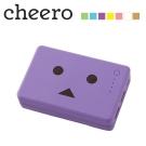 日本cheero花阿愣10050mAh雙輸出行動電源(2A快充)-紫羅蘭/紫