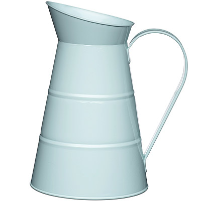KitchenCraft 復古花器冷水瓶(藍2.3L)
