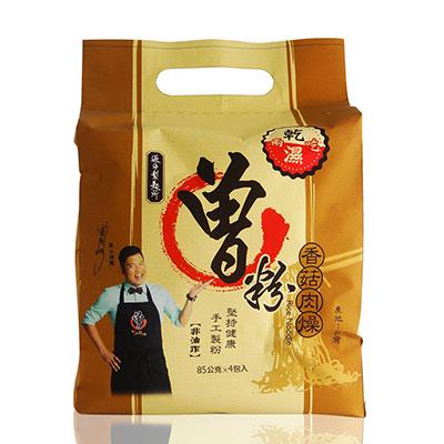 過海製麵所 曾粉-素香菇肉燥(4包/袋)