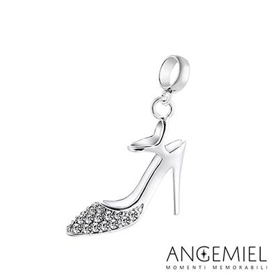 Angemiel安婕米串珠 925純銀吊飾 閃亮高跟鞋