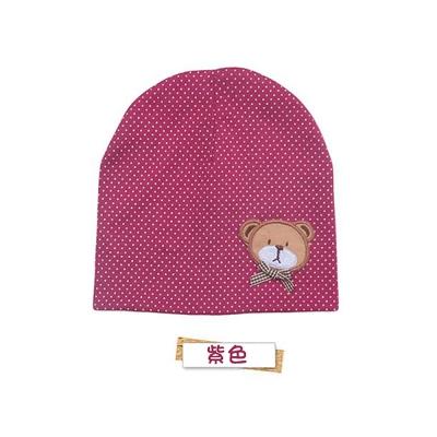 韓版小熊寶寶套頭帽-兩件入 (共五色)