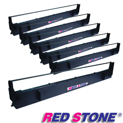 RED STONE for EPSON #7754/LQ1000黑色色帶組(1組6入)