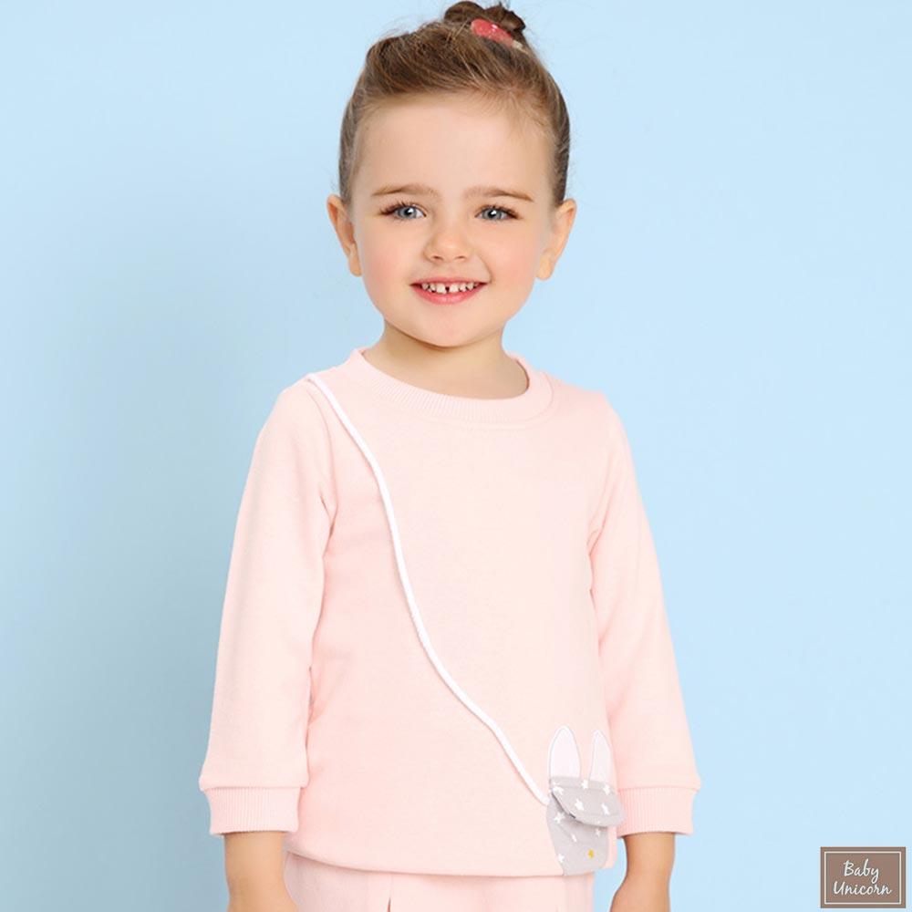 Baby unicorn 粉色小狐狸長袖上衣