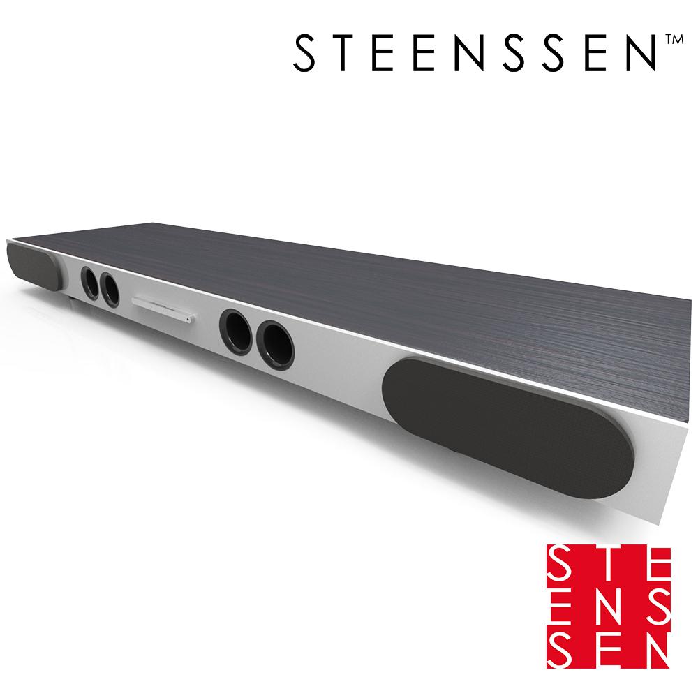 【丹麥 STEENSSEN】高階藍牙原音劇院系統- Action個性動感限定款(木紋黑)