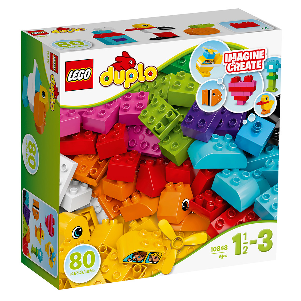 LEGO樂高 得寶系列 10848 我的第一套積木 (3Y+)
