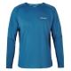 【Berghaus 貝豪斯】男款銀離子除臭抗菌抗UV長袖上衣S15M04藍/藍 product thumbnail 1