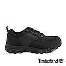 Timberland 男款黑色避震防滑低筒防水鞋