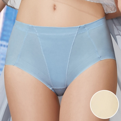 華歌爾 前腰修飾 輕塑型 64-90 高腰三角 冰涼 奇異褲(香檳金 )