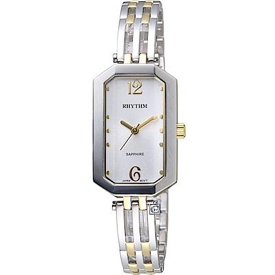 日本麗聲錶RHYTHM知性品味時尚腕錶(LE1612S03)-22x35mm