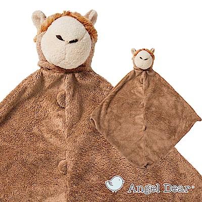 美國 Angel Dear 動物嬰兒安撫巾(草尼馬)