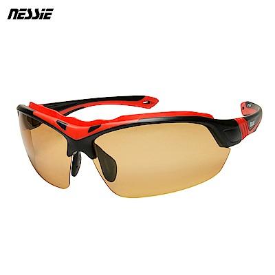 Nessie尼斯眼鏡專業運動偏光變色太陽眼鏡-擎天柱