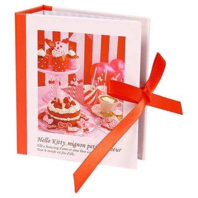 Sanrio HELLO KITTY法式浪漫系列精裝名片/卡片收納本(歡樂派對)