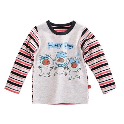 快樂豬印花長袖T恤 k60212