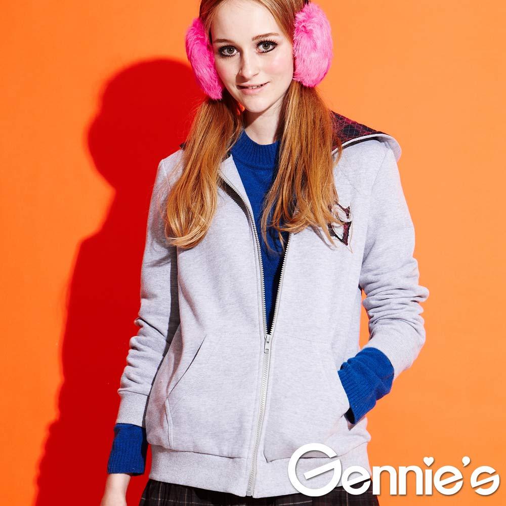 Gennie's奇妮 – 活力青春運動風孕婦外套(G3Y07)-2色可選