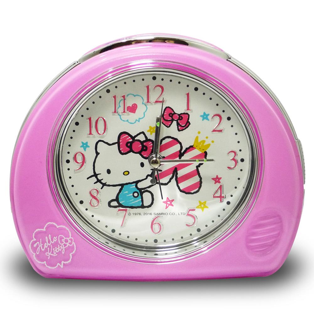 Hello Kitty甜姐兒超靜音貪睡鬧鐘 JM-2353KT