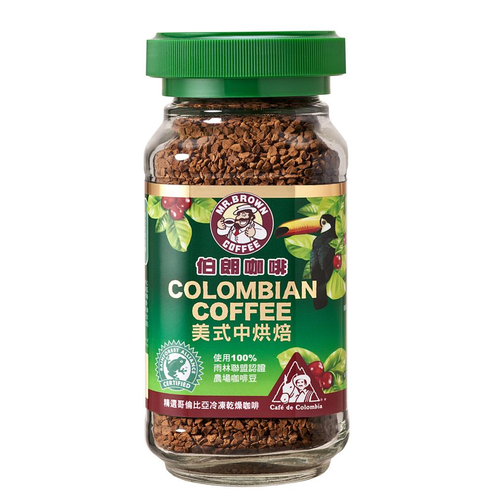 伯朗美式中烘焙咖啡95g