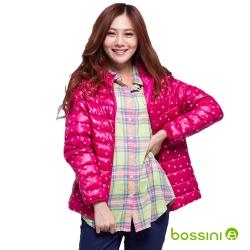 bossini女裝-印花輕薄羽絨外套04亮