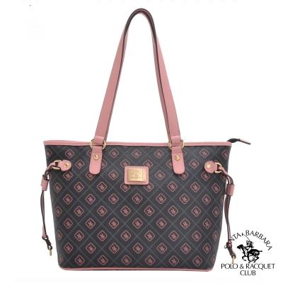 SANTA BARBARA POLO -粉紅摩登基本款肩背購物包