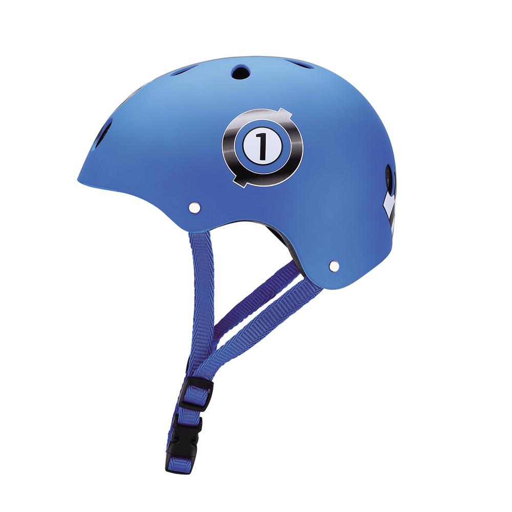 GLOBBER 安全帽 -賽車藍-XS