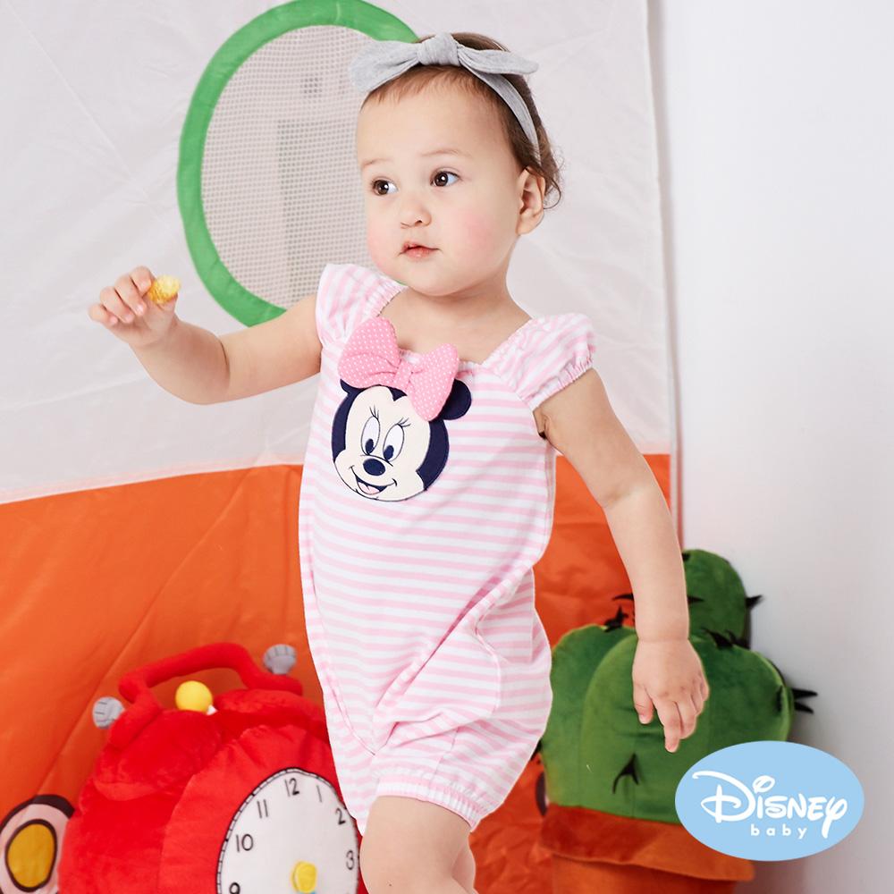 Disney Baby 俏皮米妮點點遊戲褲 粉紅