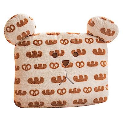 CRAFTHOLIC 宇宙人 柔軟麵包熊大靠枕