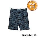 Timberland 男款藍印花款休閒短褲