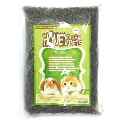 HoneyPets 椰殼活性碳松木砂10kg 1包入