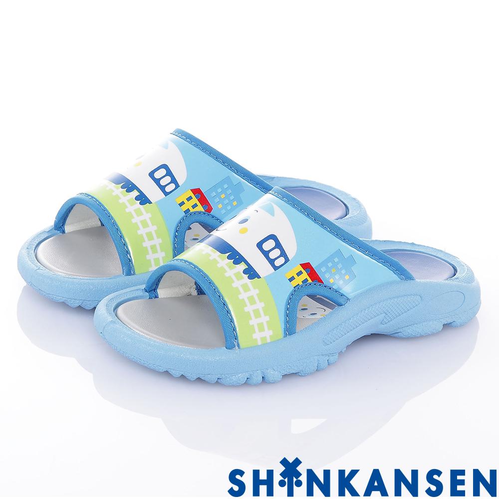 新幹線 舒適減壓休閒拖鞋童鞋-水