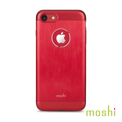 Moshi Armour for iPhone 7/8  焰紅 鋁製保護背殼