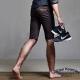 DITION 韓系SKINNY鋼印ST合身工作褲 彈力短褲 飛線跑鞋 product thumbnail 1