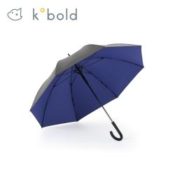 德國kobold酷波德 抗UV零透光智能防曬 女用直柄傘-寶石藍