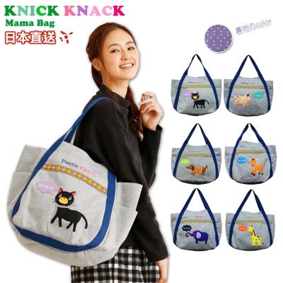 KNICK KNACK日本卡通針織單肩包