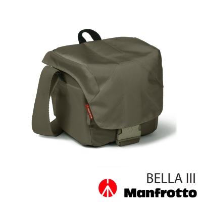 Manfrotto-曼富圖-BELLA-III-側背包-灰綠
