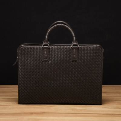 STORY 皮套王 - 羊皮編織手提公事包 Style  6030  訂做賣場