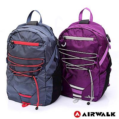 【AIRWALK】輕旅時尚後背包-共兩色