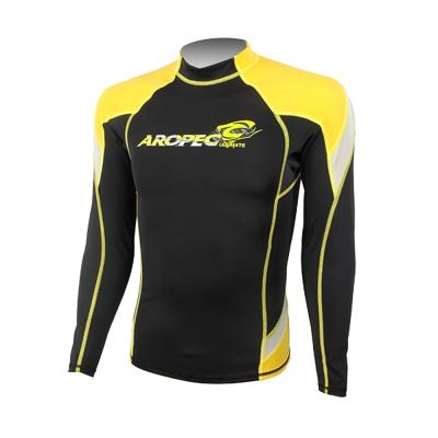AROPEC Heroic 英雄男款長袖防曬衣 黃色