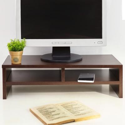 澄境 環保低甲醛雙層桌上螢幕置物架同色4入組-DIY