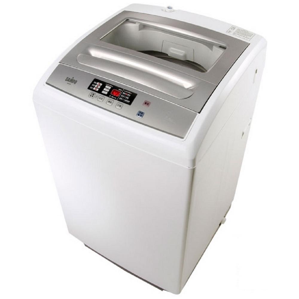 SAMPO聲寶 7.5公斤全自動微電腦洗衣機 ES-757(W)